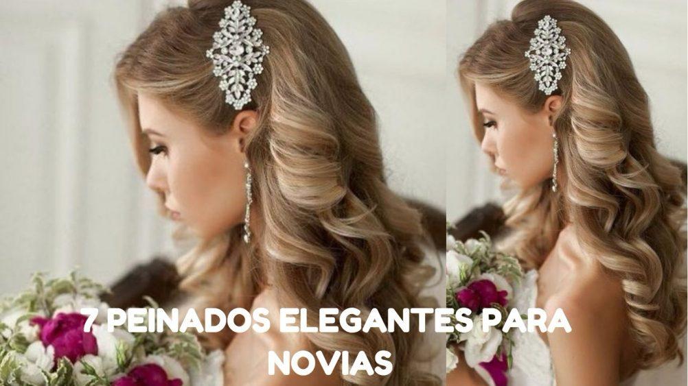 7 Peinados Elegantes Para Novias Lirish Salon - Peinados-de-novia-elegantes