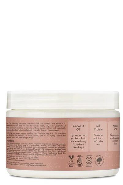 Crema hidratante para rizos con coco e hibiscus de Shea Moisture 0
