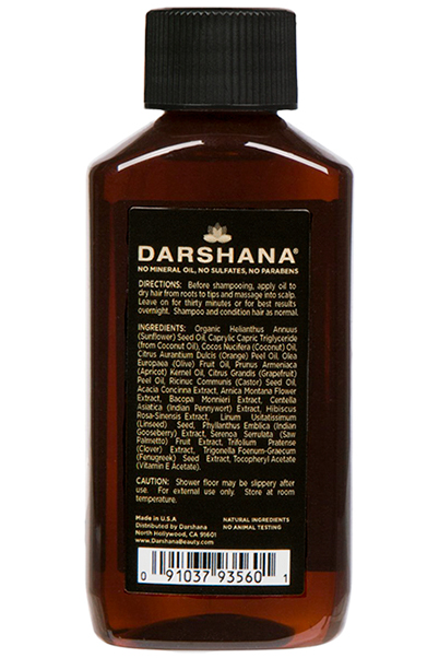 Darshana Natural Indian Hair Oil (2 oz.) 4