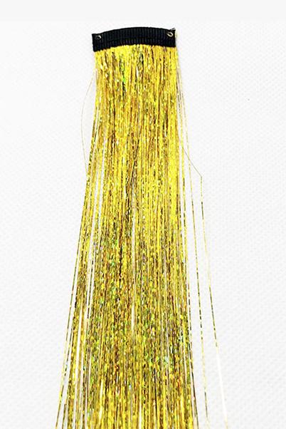 clip de pelo amarillo
