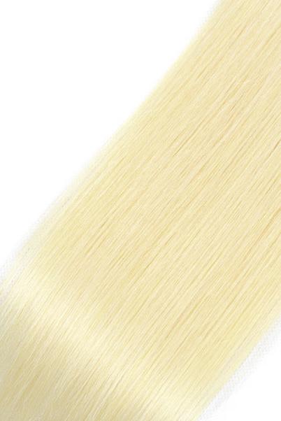 extensiones de cabello natural liso rubio 0