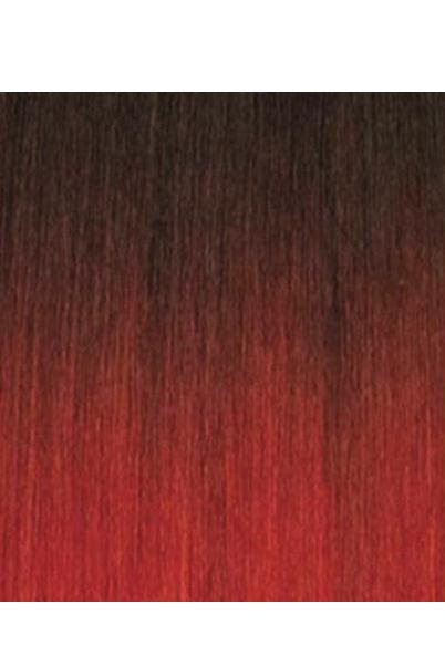 extensiones trenzas negro rojo 1